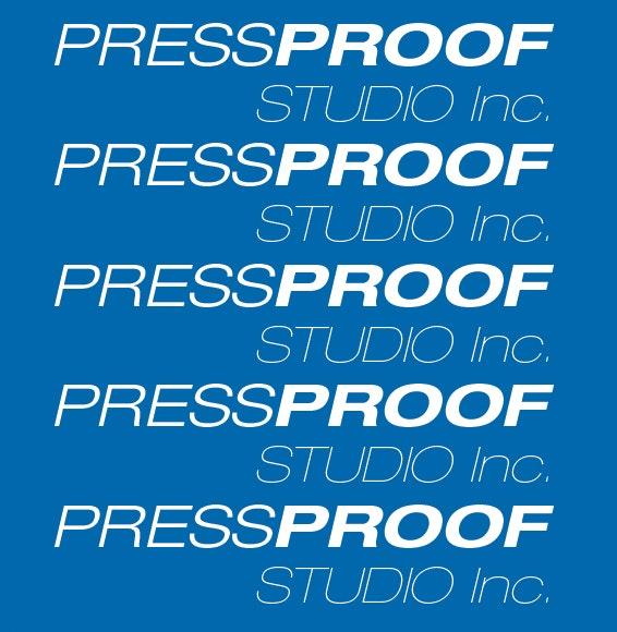 PressProof Studio, Inc Lab / Facility Logo