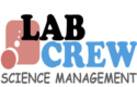 LabCrew Science Management Lab / Facility Logo