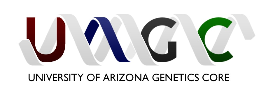 University of Arizona Genetics Core Lab / Facility Logo