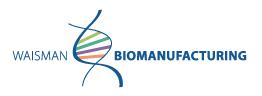 Waisman Biomanufacturing Lab / Facility Logo