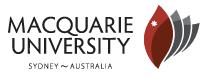 Macquarie University Microscopy Unit Lab / Facility Logo