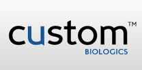 Custom Biologics Lab / Facility Logo