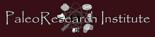 PaleoResearch Institute Lab / Facility Logo