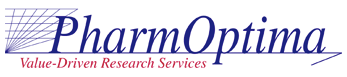 PharmOptima, LLC Lab / Facility Logo