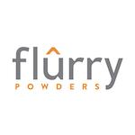 Flurry Powders Lab / Facility Logo