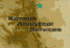 Kansas Analytical Services Lab / Facility Logo