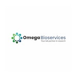 Omega Bioservices Lab / Facility Logo