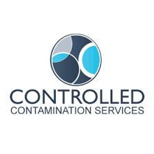 Controlled Contamination Services Lab / Facility Logo