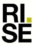 RISE - The Swedish Research Institute Lab / Facility Logo