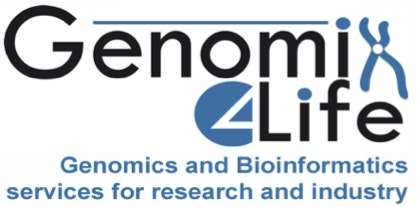 Genomix4Life Lab / Facility Logo