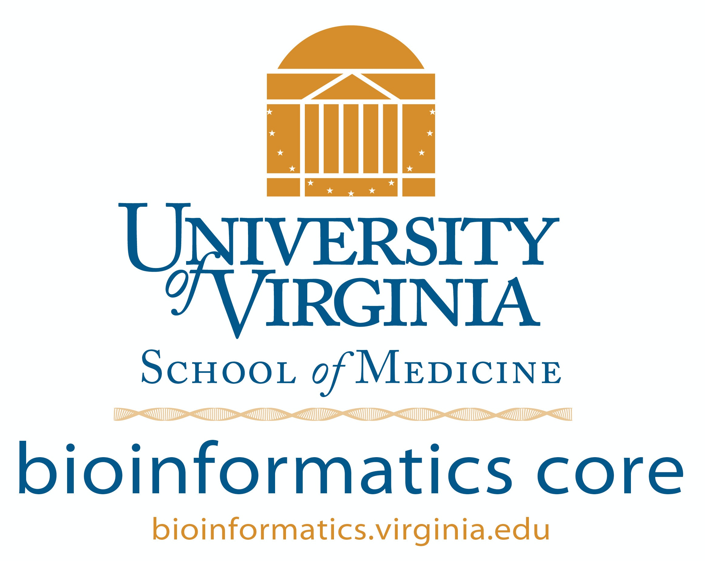 University of Virginia Bioinformatics Core Lab / Facility Logo