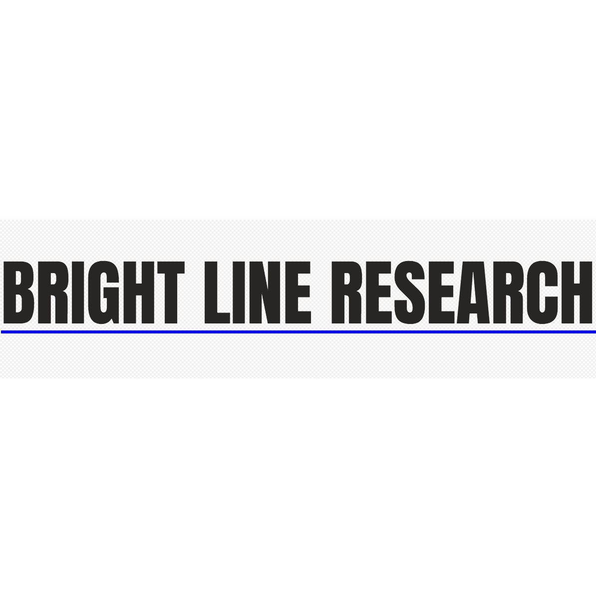 Bright Line Research Lab / Facility Logo