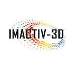 Imactiv-3D Lab / Facility Logo