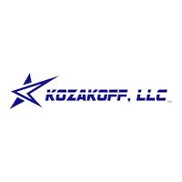 D6vgpueru2mb7shueaii kozakoff llc logo with star    blue