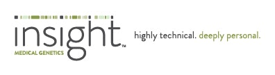 Insight Medical Genetics Lab / Facility Logo