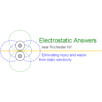 Electrostatic Answers Lab / Facility Logo