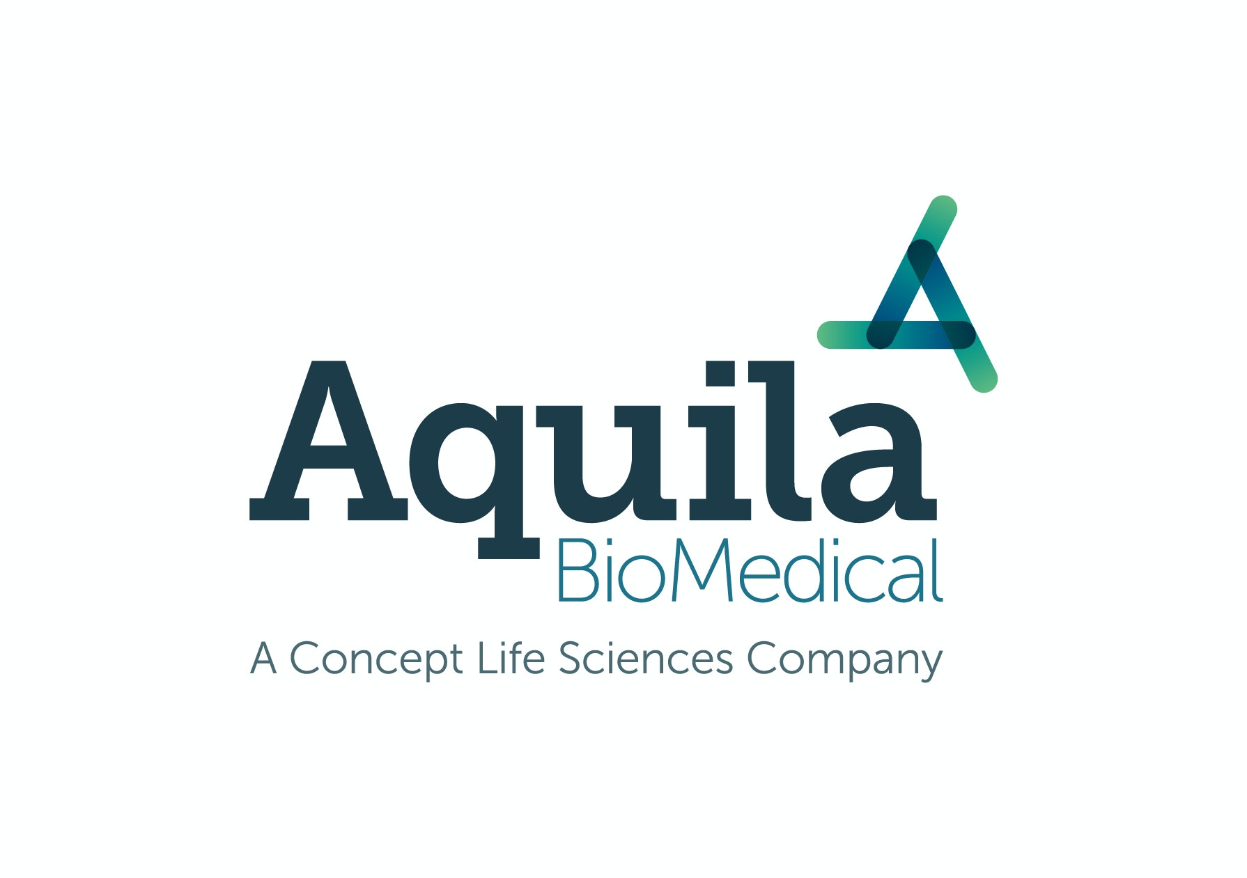 Aquila BioMedical Lab / Facility Logo