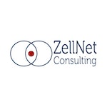 ZellNet Consulting Lab / Facility Logo