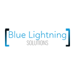 Blue Lightning Solutions Lab / Facility Logo