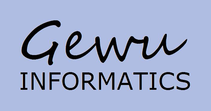 Xnwsruzcqdccrcz6qgso gewuinformatics logo